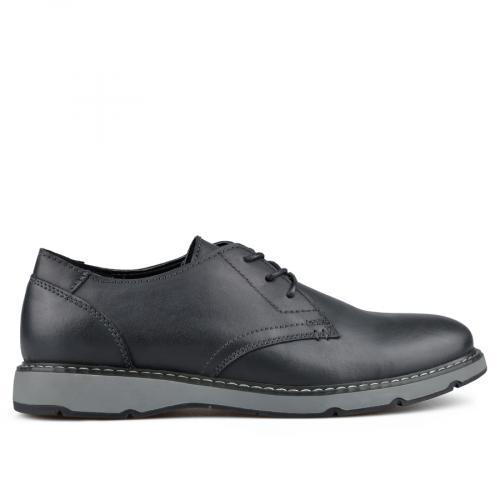 мъжки ежедневни обувки черни 0135792