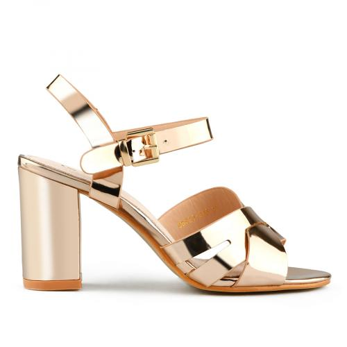 дамски елегантни сандали златисти 0140705