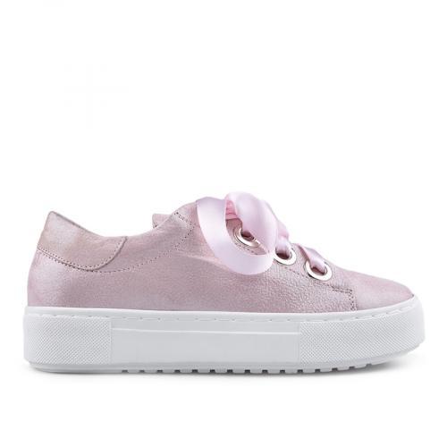 дамски ежедневни обувки розови 0134686