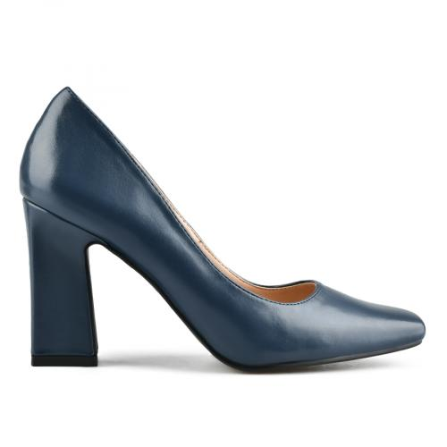 дамски елегантни обувки сини 0143104