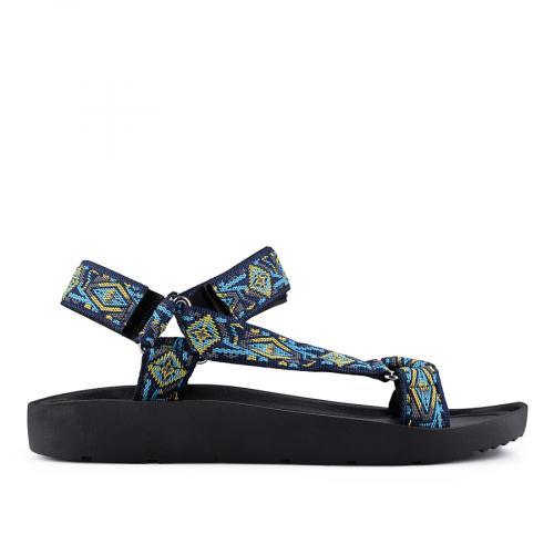 дамски ежедневни сандали черни 0127230