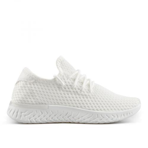 дамски ежедневни обувки бели 0137862