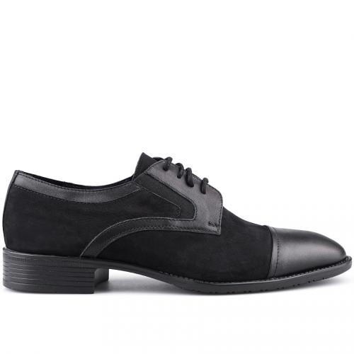 мъжки елегантни обувки черни 0126049