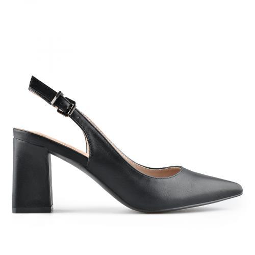 дамски елегантни сандали черни 0140018