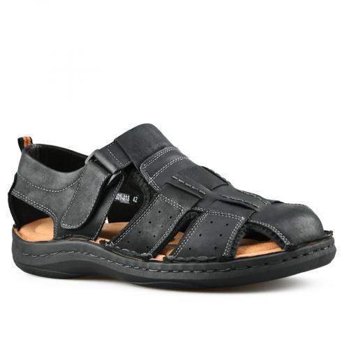 мъжки ежедневни сандали черни 0143477
