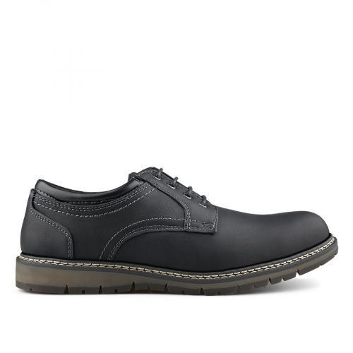 мъжки ежедневни обувки черни 0139090