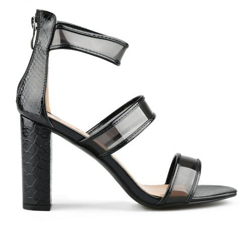 дамски елегантни сандали черни 0144367
