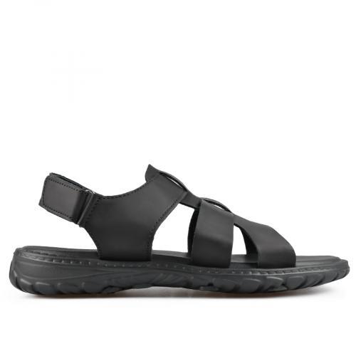 мъжки сандали черни 0137293