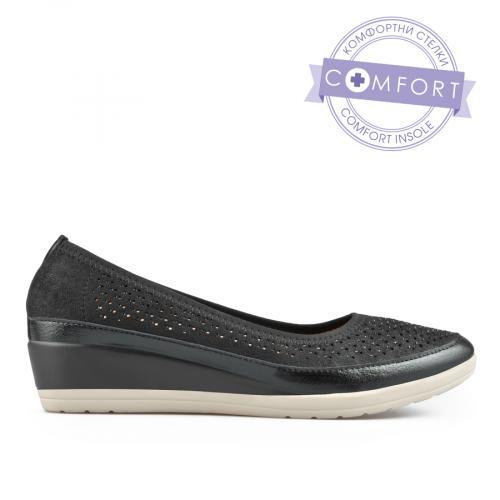 дамски ежедневни обувки черни 0137671