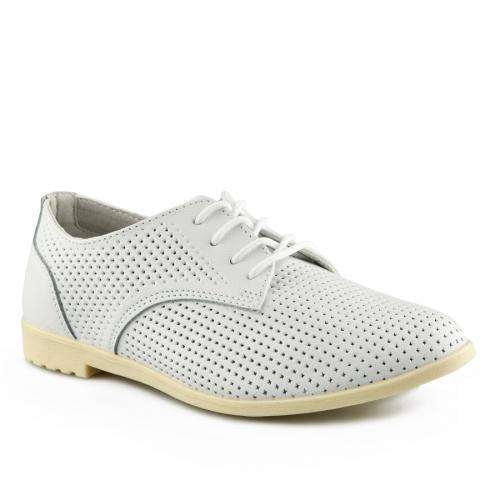 дамски ежедневни обувки бели 0139734