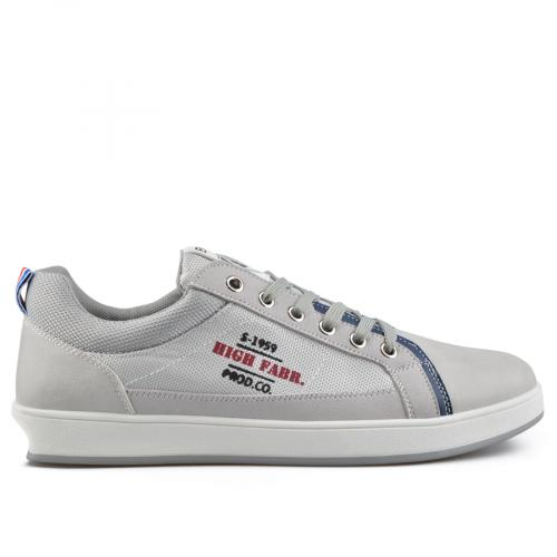 мъжки ежедневни обувки сиви 0136927