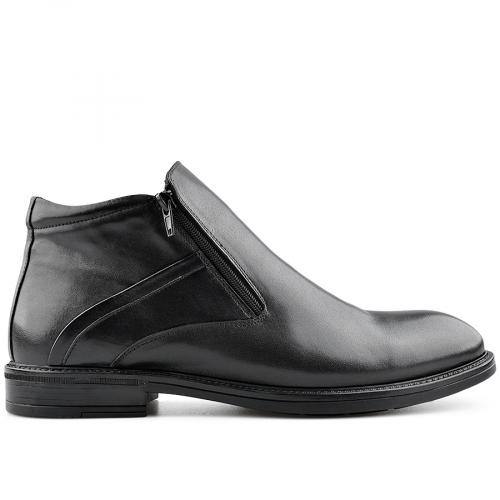 мъжки елегантни боти черни 0139542