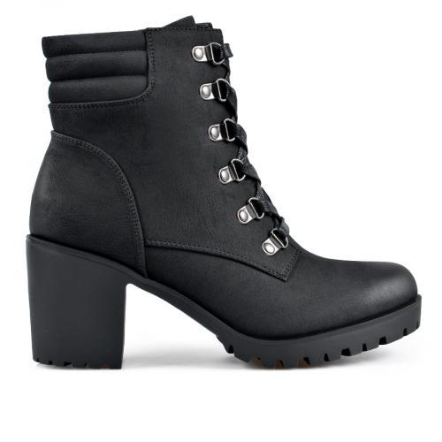 дамски ежедневни боти черни 0135280