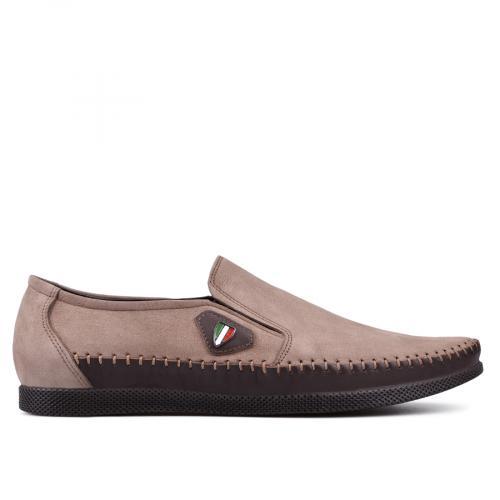мъжки ежедневни обувки кафяви 0131330