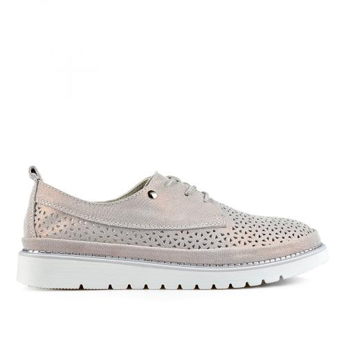 дамски ежедневни обувки бронзови 0137213