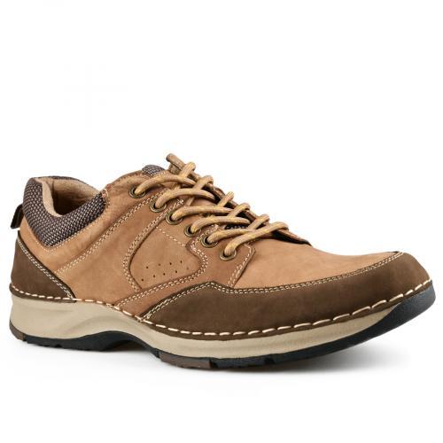 мъжки ежедневни обувки кафяви 0142106