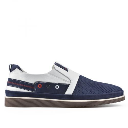 мъжки ежедневни обувки сини 0138384