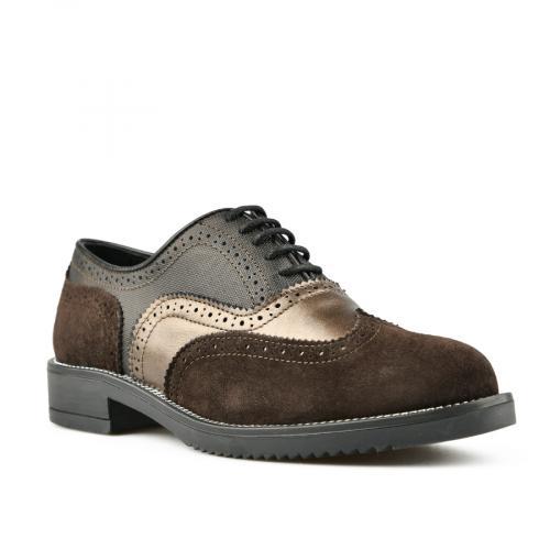 дамски ежедневни обувки кафяви 0145489