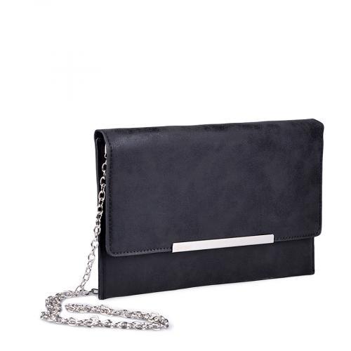 дамска елегантна чанта черна 0134379