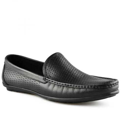 мъжки ежедневни обувки черни 0141251