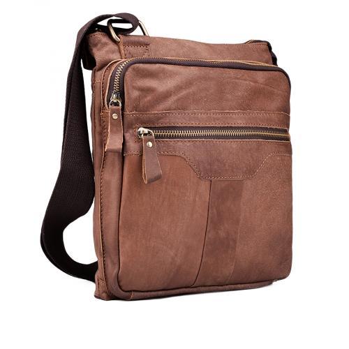 мъжка ежедневна чанта кафява 0132446
