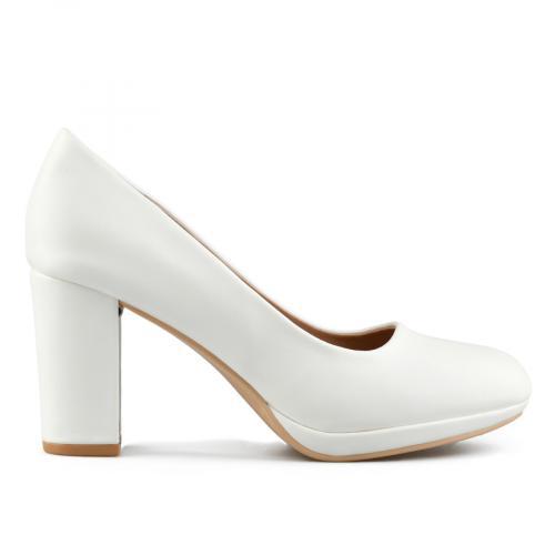 дамски елегантни обувки бели 0143307