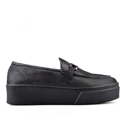 дамски ежедневни обувки черни 0134676