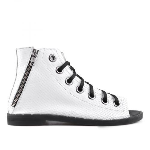 дамски ежедневни сандали бели 0135004