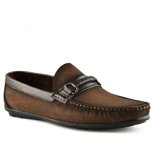 мъжки ежедневни обувки кафяви 0141233