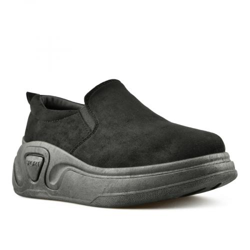 дамски ежедневни обувки черни 0144709