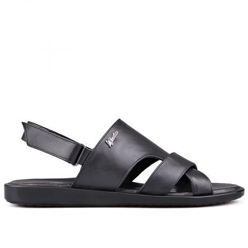 мъжки сандали черни 0132599