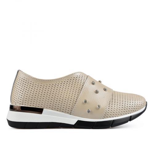 дамски ежедневни обувки бежови 0137193