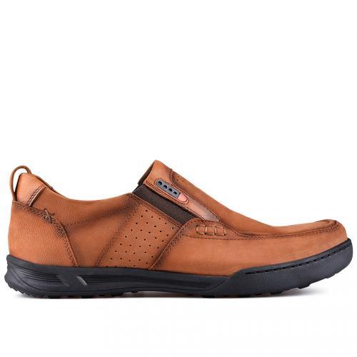 мъжки ежедневни обувки кафяви 0128775