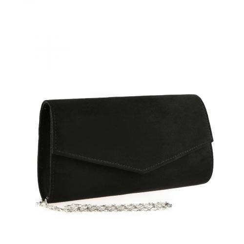 дамска елегантна чанта черна 0140890