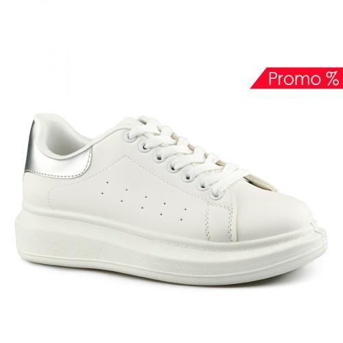 дамски ежедневни обувки бели 0142030