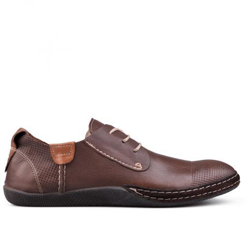 мъжки ежедневни обувки кафяви 0131023