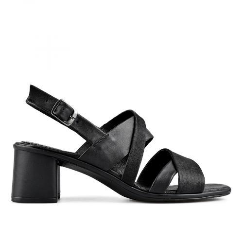 дамски елегантни сандали черни 0138531
