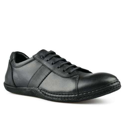 мъжки ежедневни обувки черни 0144280