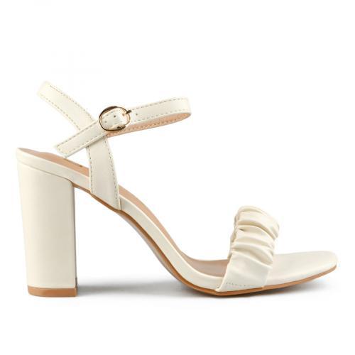 дамски елегантни сандали бежови 0143262