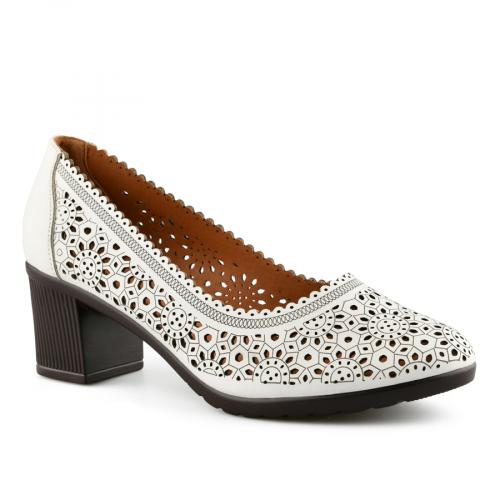 дамски ежедневни обувки бели 0141040