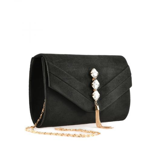 дамска елегантна чанта черна 0139891