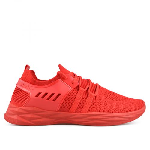 мъжки ежедневни обувки червени 0136925