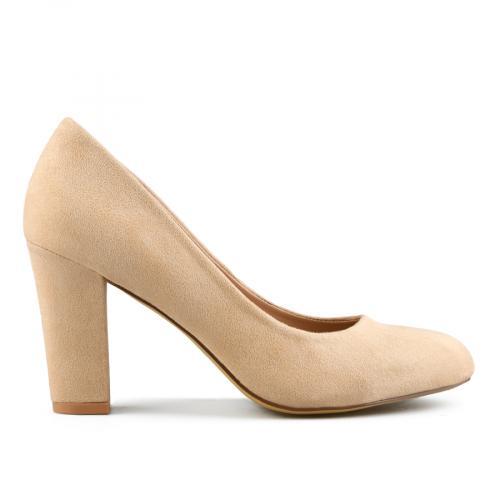 дамски елегантни обувки бежови 0142893