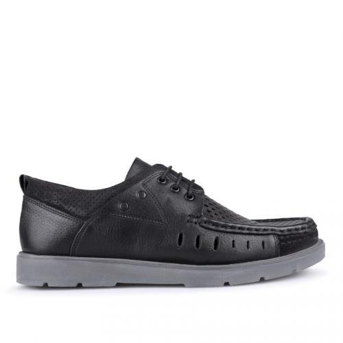 мъжки ежедневни обувки черни 0127525