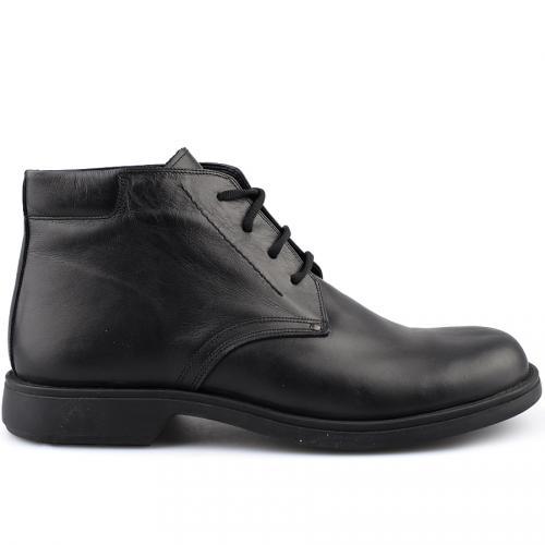 мъжки елегантни боти черни 0109239