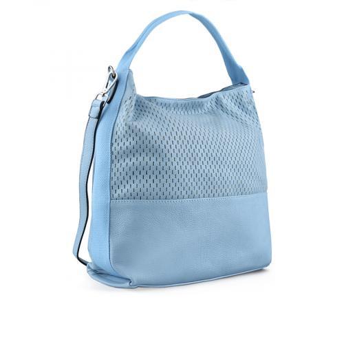 дамска ежедневна чанта синя 0137986