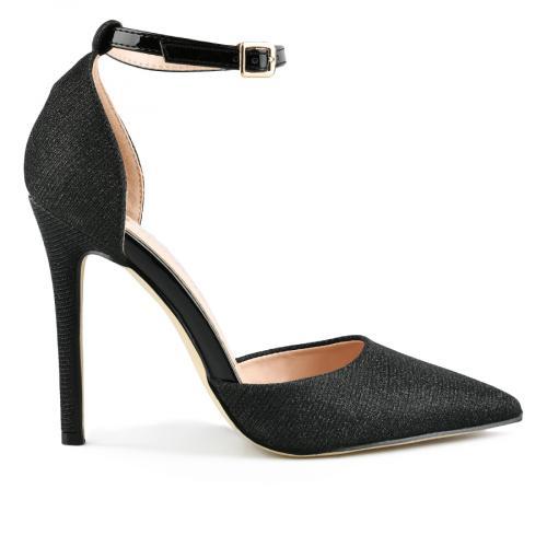 дамски елегантни сандали черни 0143245