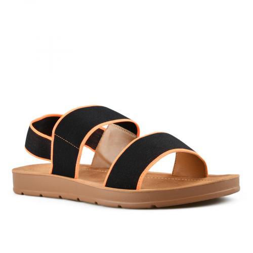 дамски ежедневни сандали черни 0143986