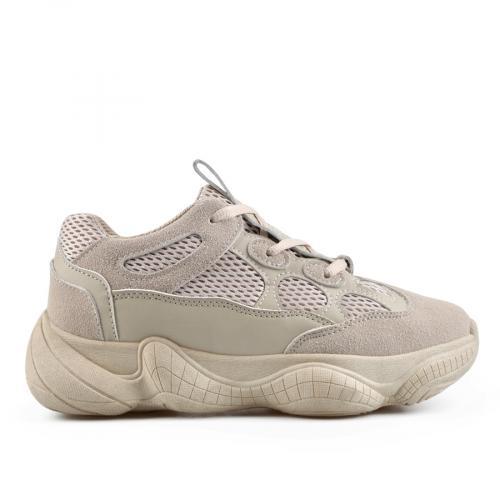дамски ежедневни обувки бежови 0136896