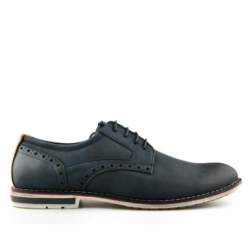 мъжки ежедневни обувки сини 0140630